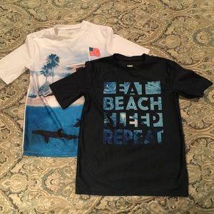 Old Navy SS Splash Guard shirts. Boys 14-16